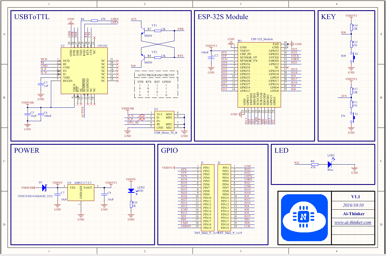 The Internet Of Things With Esp32 Wiring Schematic V1 1 0 Usb Pinout